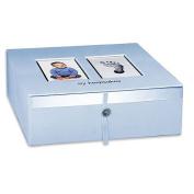 Baby Imprints Keepsake Box - Blue