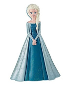 23cm High Plastic Disney Princess Frozen Queen Elsa Coin Bank Moulded Coin Piggy Saving Bank with Pink Wallet
