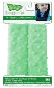 Snuggin Go Reversible Strap Covers, Green