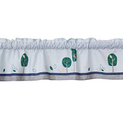 Bedtime Originals Sparky Window Valance, Green