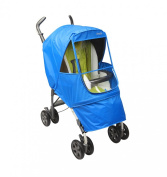 Manito Elegance Alpha Stroller Weather Shield / Rain Cover - Blue