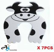 A & S Creavention Animal Foam Door Stopper Cushion Children Safety Finger Pinch 7PCS Set
