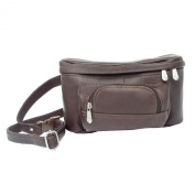 Piel Leather Carry-All Waist Bag