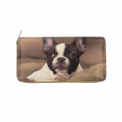 Digital Print (Double Face) Single Zipper Wallet - Where Is My Angle Style