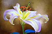 The Art Factory Floral Painting 60cm (W)x 16""