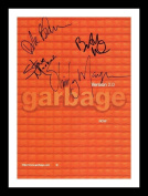 Garbage Autographed Signed And Framed A4 21cm x 29.7cm Poster Photo