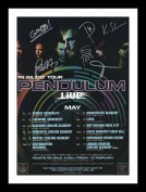 Pendulum Autographed Signed And Framed A4 21cm x 29.7cm Poster Photo