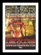 Enter Shikari Autographed Signed And Framed A4 21cm x 29.7cm Poster Photo