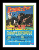 Bowling For Soup Autographed Signed And Framed A4 21cm x 29.7cm Poster Photo