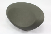 Round Bath Headrest Pillow 25cm Width Universal Fitment Bathtub Round Head Rest