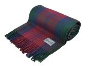 Classic Wool Knee Blanket in Lindsay Tartan