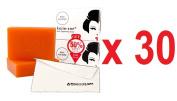 (Pack of 30) Kojie San Skin Lightening Kojic Acid Soap 2 Bars - 65g