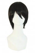 MapofBeauty Fashion Men's Short Straight Wig