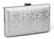 KISS GOLD(TM) Exquisite Leather Metal Hollow Designer Clutch Bag Evening Handbags