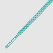 Mr Lacy Ropies Round Mint Green White Shoelaces 130cm