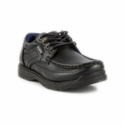 US Brass Boys Lace Up Shoe in Black