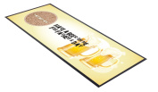 Hava a beer on me for Fathers day Bar Runner Great gift idea present L & S prints