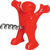 SHENNOSI® Happy Man Sir Perky Novelty Bottle Corkscrew