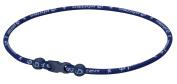 Phiten 46cm Classic Titanium Necklace Navy