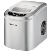 MAGIC CHEF MCIM22SV 12kg Capacity Portable Mini Ice Maker