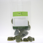 TEA TREE OIL Natural Way Hard Wax POUND REFILL for Microwave Jars and Warmers