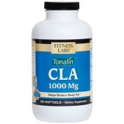 Fitness Labs CLA Tonalin 1,000 Mg per Softgel, 360 Softgels