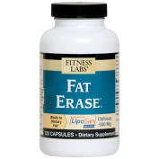 Fitness Labs Fat Erase Diet Chitosan 500 Mg, 120 Capsules