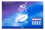 Ciba Vision AO Sept Plus Care Product for Soft Contact Lenses Systempack 4x 360 ml