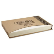 Grease-Proof Quilon Pan Liners, 16 3/8 x 24 3/8, Natural, 1000 Sheets/Carton 030001
