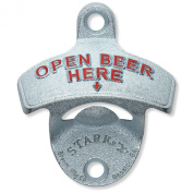 Embossed 'Open Beer Here' Bottle Opener Sold By Kegconnection