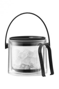 Bodum Cool Ice Bucket with Tongs, 1.5 L, Black
