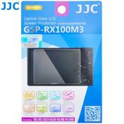 JJC GSP-RX100M3 Tempered Toughened Optical Glass Camera Screen Protector 9H Hardness Anti-Bubble Anti-scratch Anti-burst Anti-fingerprint Ultra-thin Super Light Transmittance For Sony DSC-RX1 RX1R RX100 RX100II RX100III Camera