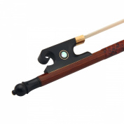Sandalwood Baroque Model 4/4 Violin Bow Ox Horn Frog Horsehair About 80cm