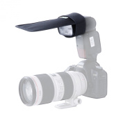 Movo Photo SB10 Universal Bounce Card / Light Shaper fits External Camera Flashes