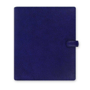 Filofax 2015 A5 Size Leather Organiser, Finsbury Electric Blue
