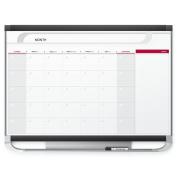 Quartet Prestige 2 Magnetic Monthly Calendar Board, 0.9m x 0.6m, Total Erase Surface