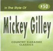 MICKEY GILLEY Country Karaoke Classics CDG Music CD