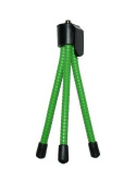 Green Colour Flexible Mini Tripod for Sony Bloggie High Definition Handycam Camcorders - COMPATIBLE WITH ALL MODELS - AAA Products