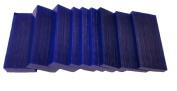 Assorted Matt Carving Wax CA-1260kg Slices Colour Blue 3.7cm x 7.9cm
