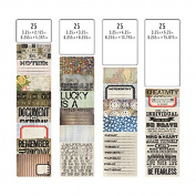 Tim Holtz Idea-ology TH93208 Pocket Cards, Multicolor