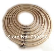 7pcs/set Wooden Cross Stitch Machine Embroidery Hoop Ring 13cm 17cm 20cm 23cm 26cm 30cm 33cm