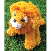 Huggables Lion Stuffed Toy Latch Hook Kit-16 Long