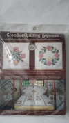 Creative Quilting Squares Paragon Needlecraft Colonial Rose New in Package Vintage 1981