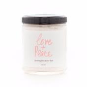 Olivine Atelier - All Natural / Vegan Love + Peace Sparkling Pink Butter Bath Salts