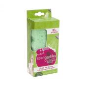 Spongeables 30 Plus Body Wash Infused Sponge with Verbena Green Tea Scent