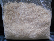 80ml SHREDDED NATURAL GROUND LOOFAH LUFFA POWDER GRANULE FOR MAKING SCRUB, BATH SOAP, CLEANSER