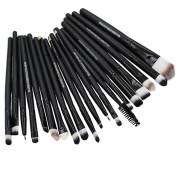 20pcs Pro Makeup Brushes Set Powder Foundation Eyeshadow Eyeliner Lip Brushes