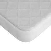 Premium Waterproof Crib Mattress Pad Cover From Bow-Tiger - Extra Soft and Completely Silent Breathable Fitted Baby Mattress Protector that Prevents Stain, Moisture and Bed Bugs from Getting into Your Toddler's Bed, Keep your baby dry and safe!