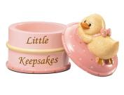 Russ Berrie Keepsake Box, Pink