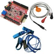 SHIELD-EKG-EMG and SHIELD-EKG-EMG-PA and SHIELD-EKG-EMG-PRO Arduino Ecg shield Kit